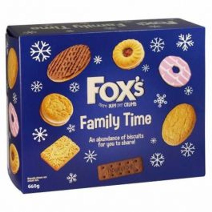 Fox's Family Time Biscuit Assortment *660g *ONLY £1 Until MIDNIGHT TONIGHT!