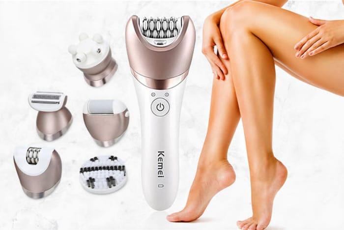 Best Price! 5-in-1 Multifunctional Shaver, Epilator, Callus Remover & Massager