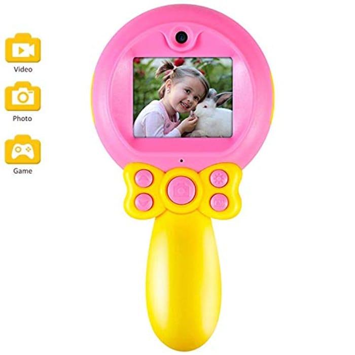 Get 50% off Micoke Kids Camera 1080P HD Video Kids Digital Camera Camcorder