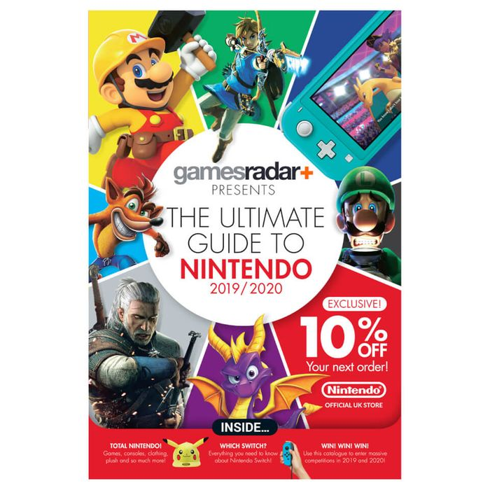 GamesRadar+ Presents the Ultimate Guide to Nintendo 2019/2020 - Free with Code