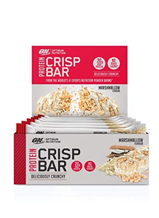 Optimum Nutrition Protein Crisp Bar with Whey Protein Isolate