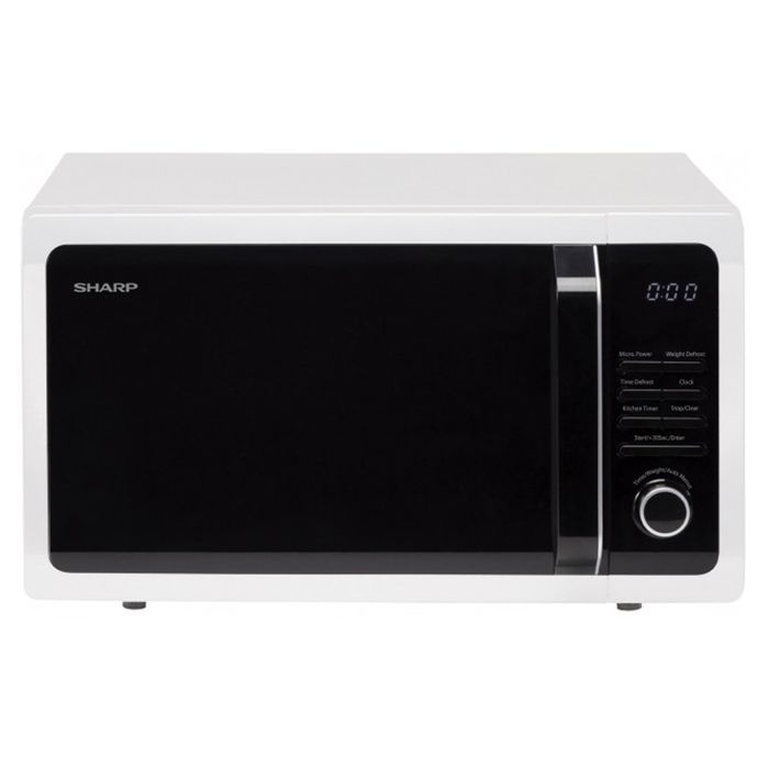 *SAVE £20* Sharp 25Ltr 900W Solo Microwave - White