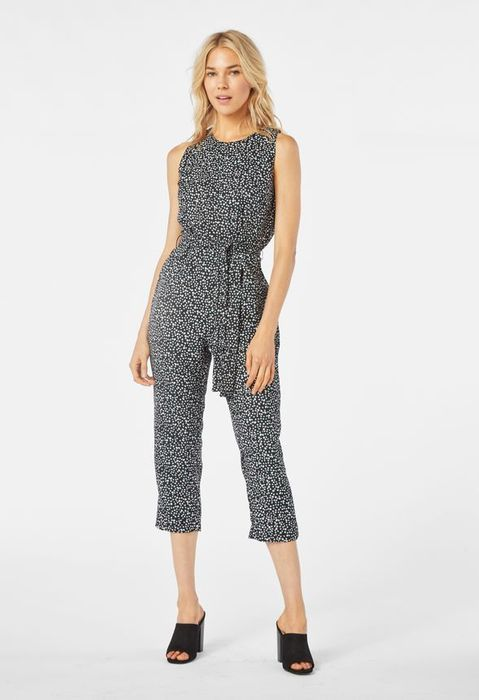 Cropped Jumpsuit at Justfab