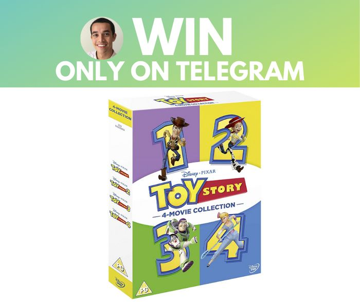 Win Complete Toy Story DVD Gift Set! with Latest Deals on Telegram