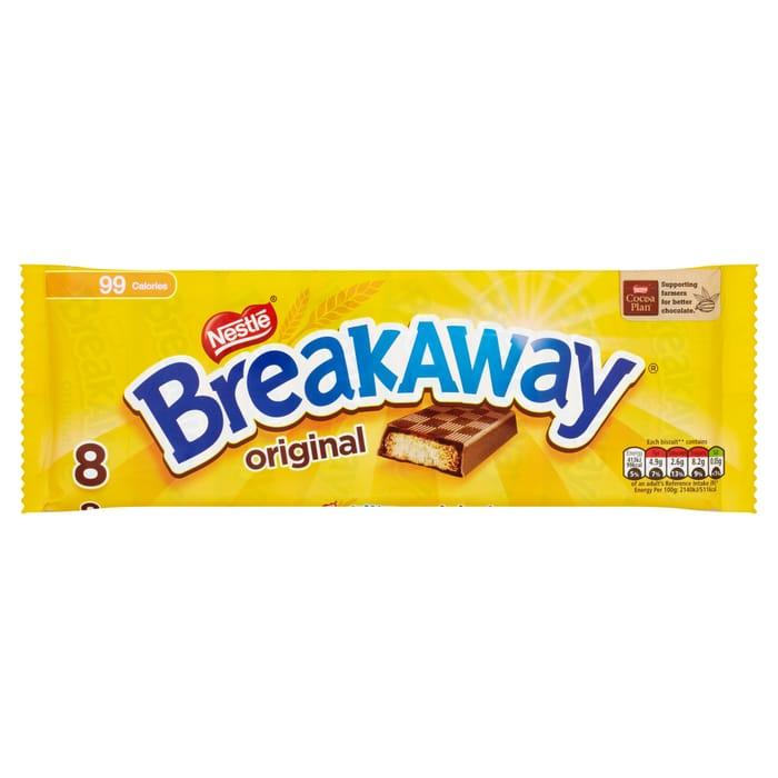 Mcvities Gold Biscuits 8 Pk 72p Breakaway Biscuits 8pk 75p