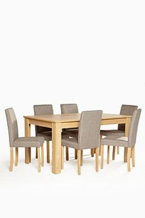 Kingston 7 Piece Dining Set - Only £249.99!