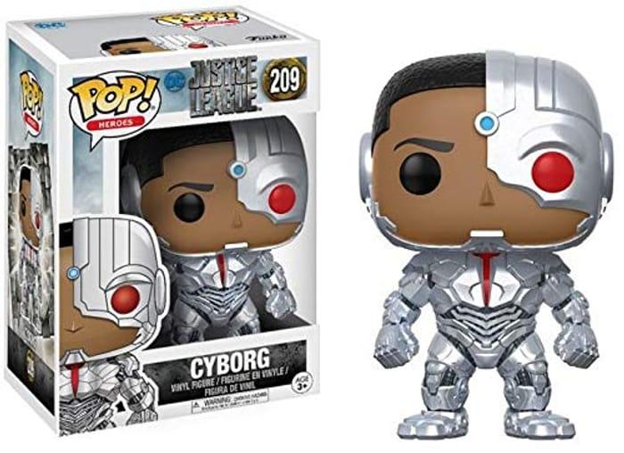 DC Comics Funko Pop! 13487 Cyborg Justice League Movie Vinyl Toy