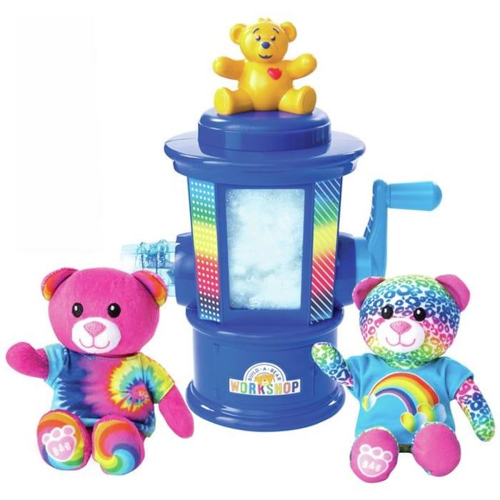 Bargain! Build a Bear Stuffing Station Rainbow Edition at Argos