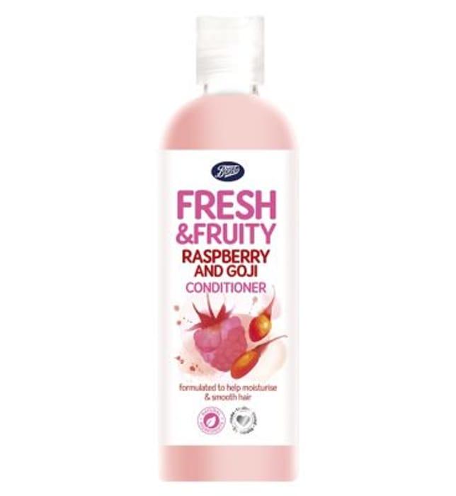 Boots Fresh & Fruity Raspberry & Goji Berry Conditioner 500ml save 19P