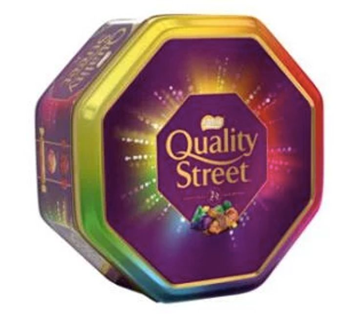 1kg Tin of Quality Street for Just £7 at Asda