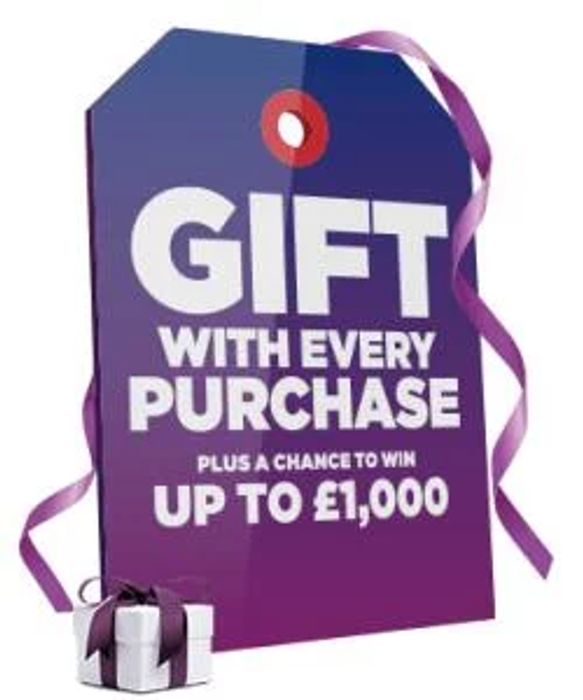 £5 Voucher When You Spend £25 or More - plus a Chance to WIN up to £1000