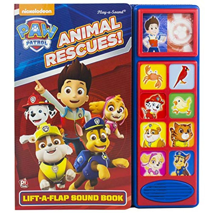 Paw Patrol Lift a Flap Sound Book