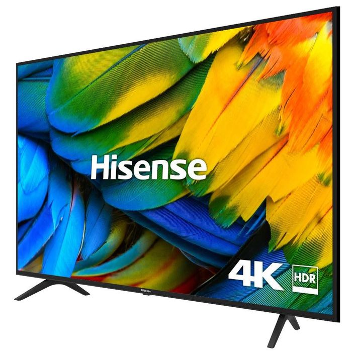 """Hisense (2019) LED HDR 4K Ultra HD Smart TV, 50"""" with Freeview Play 5yr G'tee"""