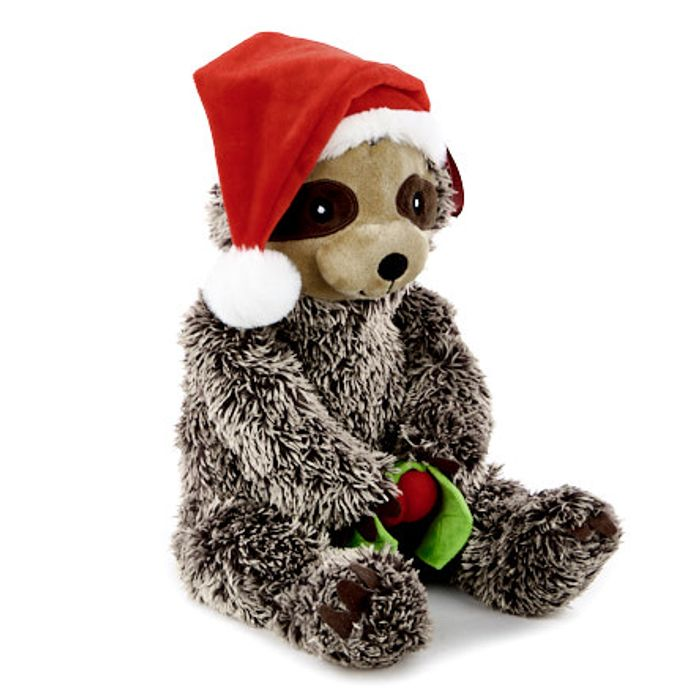 Christmas Sloth Soft Toy - Only £3.99!