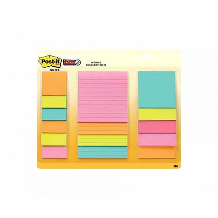 Half Price Post-It Super Sticky Waterfall Pack of 15