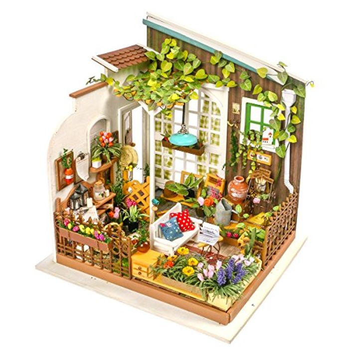Robotime DIY Garden House - Doll House FREE DELIVERY