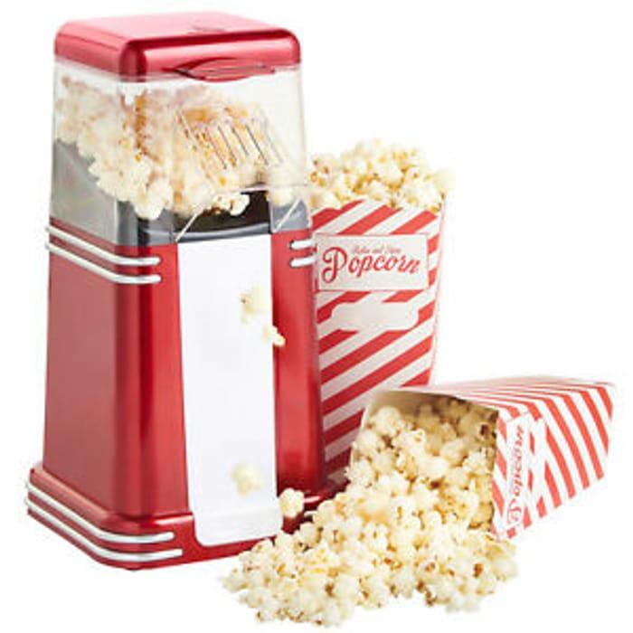 Cheap Popcorn Maker Machine Popper Hot Air, Only £13.95!