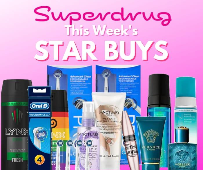 New Superdrug Weekly Star Buys + Members Treats!