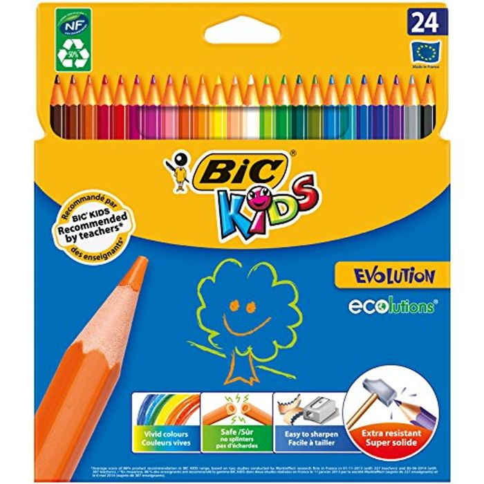 Cheap Bic Colouring Pencils at Amazon, Only £5.79!