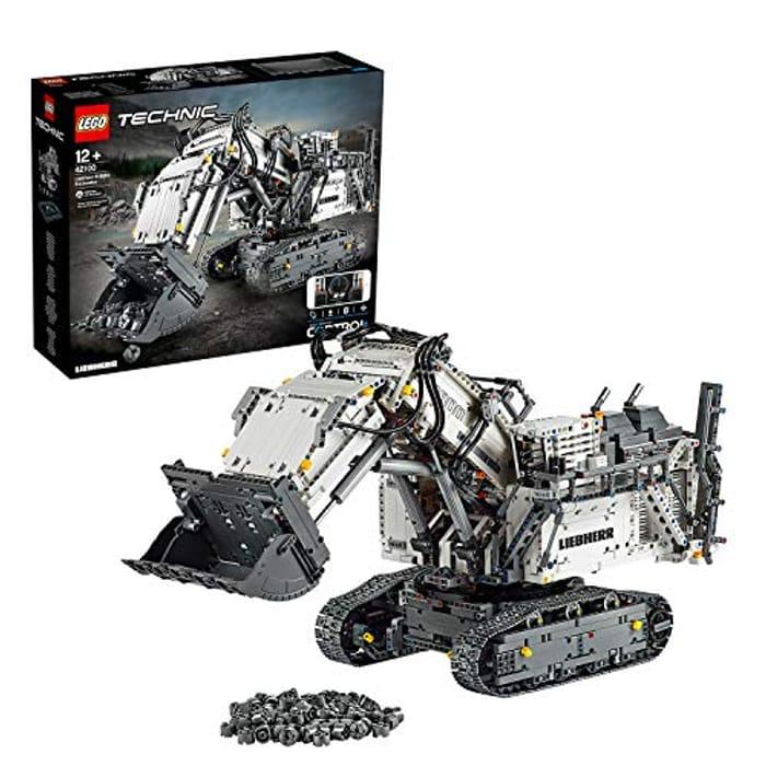 LEGO 42100 Technic Control+ Liebherr R 9800 Excavator £319.54 at Amazon