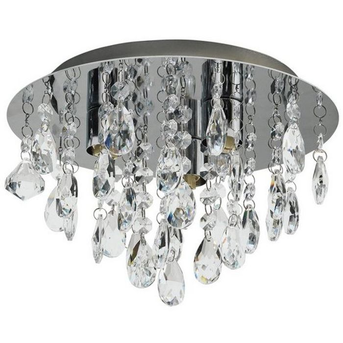 Glass Droplet Ceiling Light Down From £25 to £16.66