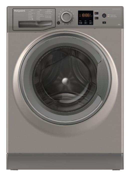 HOTPOINT NSWR 963C GK UK 9 Kg 1600 Spin Washing Machine - Graphite