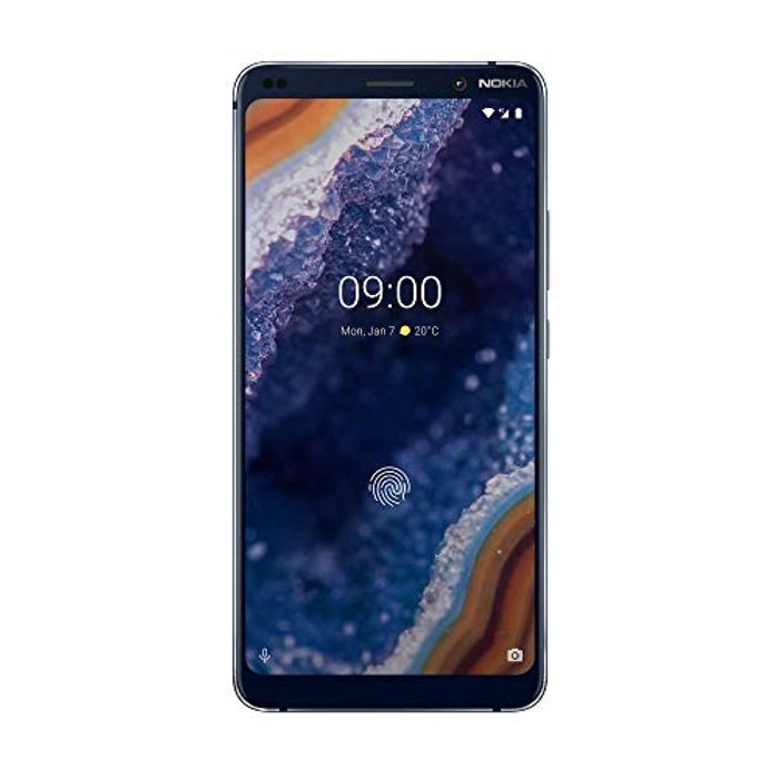 Best Ever Price! Nokia 9 PureView 5.99-Inch Android 9 Pie UK SIMFree Smartphone