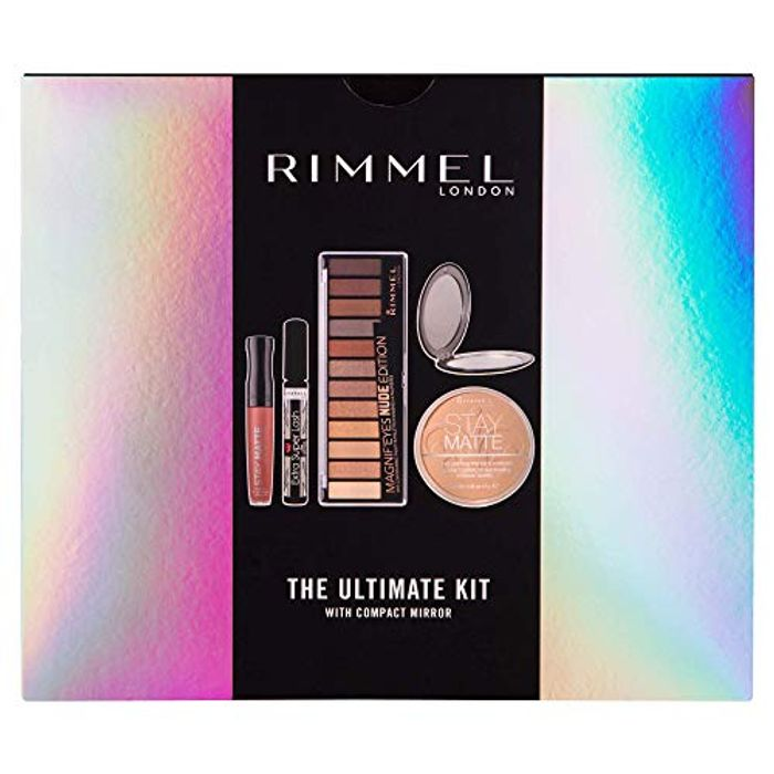Rimmel the Ultimate Kit Gift Set with Compact Mirror