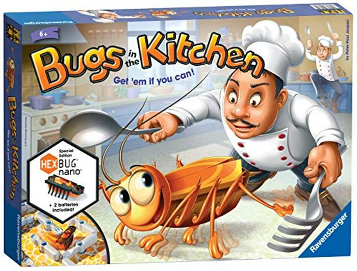 Ravensburger Bugs in the Kitchen - Catch the Hexbug