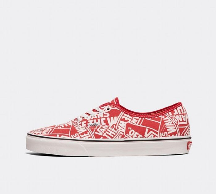 Vans Authentic OTW Repeat Trainer | Red / True White