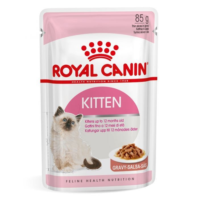 Free Royal Canin 3 Kitten Food Pouches & Voucher for Free 400g Bag Kitten Food