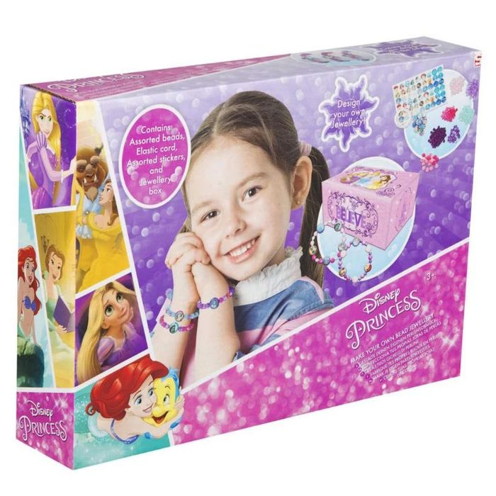 Disney Princess Make Your Own Bead Jewellery Play Set
