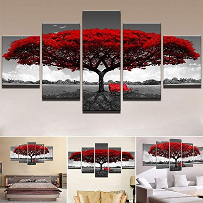 5pcs Wall Art Pictures 80% off + Free Delivery