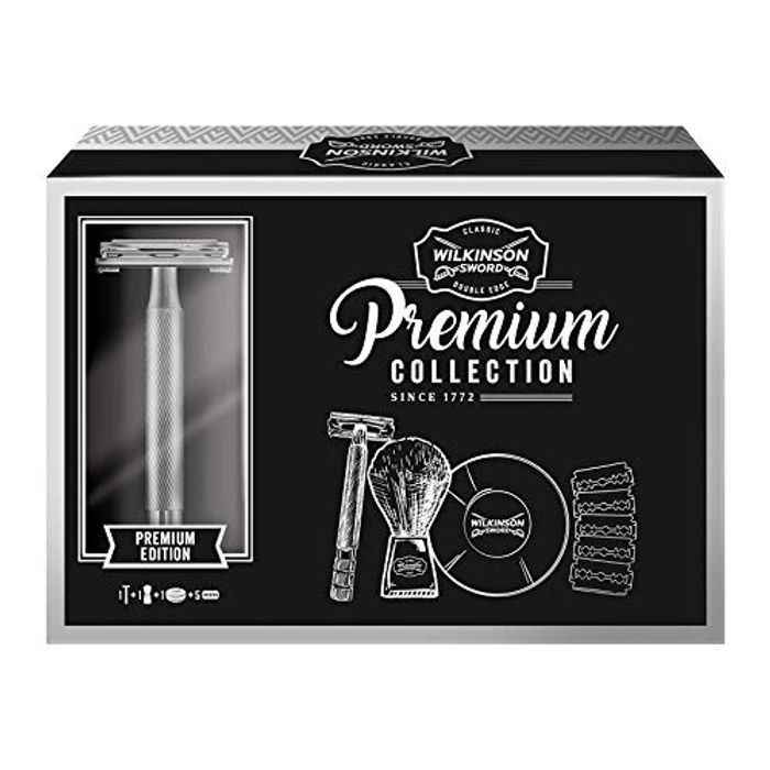 Best Price! Wilkinson Sword Classic Double Edge Safety Razor Gift Set