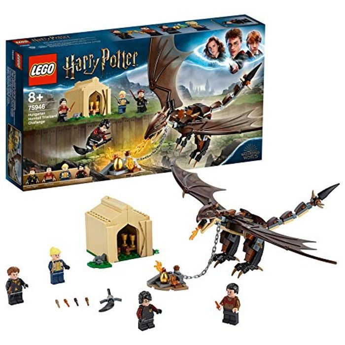 SAVE £6 at AMAZON - LEGO Harry Potter Hungarian Horntailn (75946)