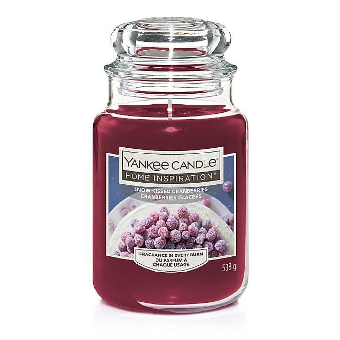 Snow Kissed Cranberries Large Yankee Candle £8.90 at George Asda