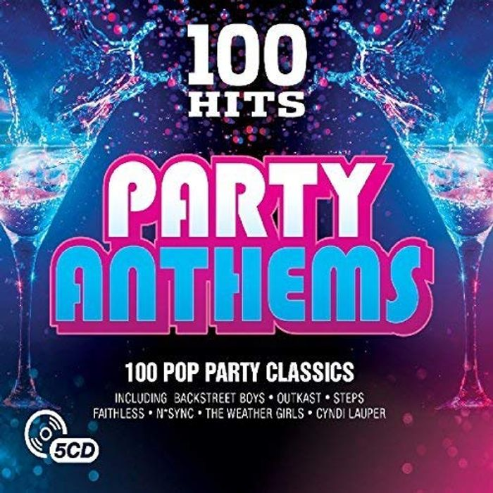 Cheap 100 Hits - Party Anthems Box Set 5 CD with £6.34 Discount - Great buy!