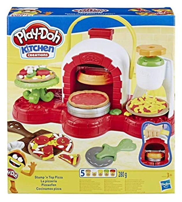 ALMOST HALF PRICE at AMAZON - Play-Doh Stamp 'N Top Pizza Oven