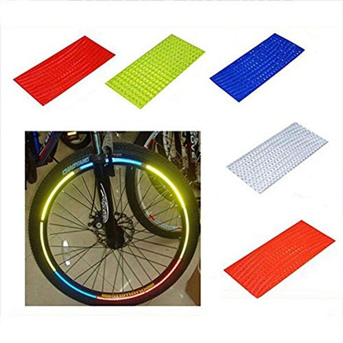 Get Seen! Bicycle Reflector Stickers