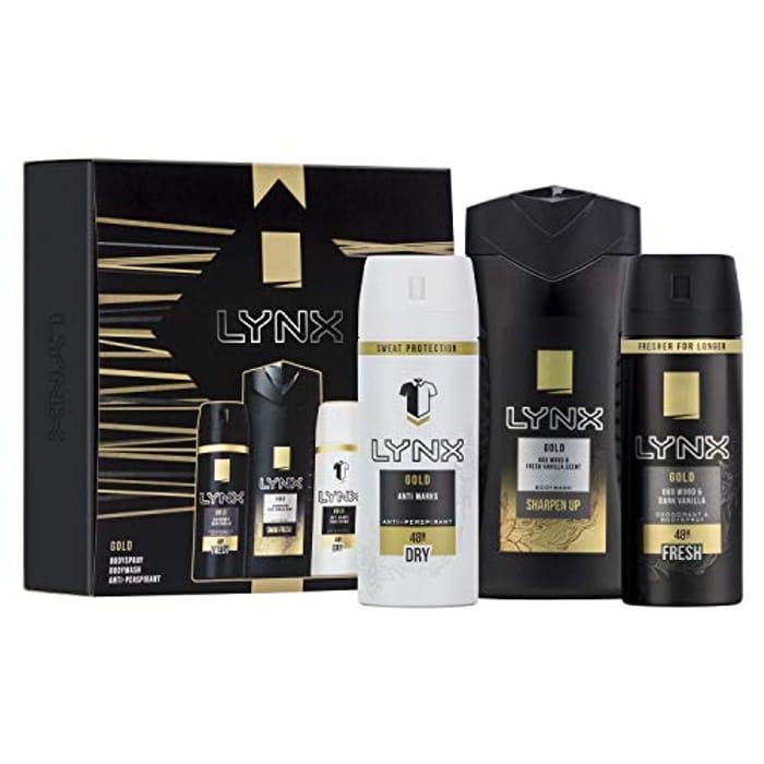 Best Ever Price! Lynx You Trio Men's Christmas Gift Set