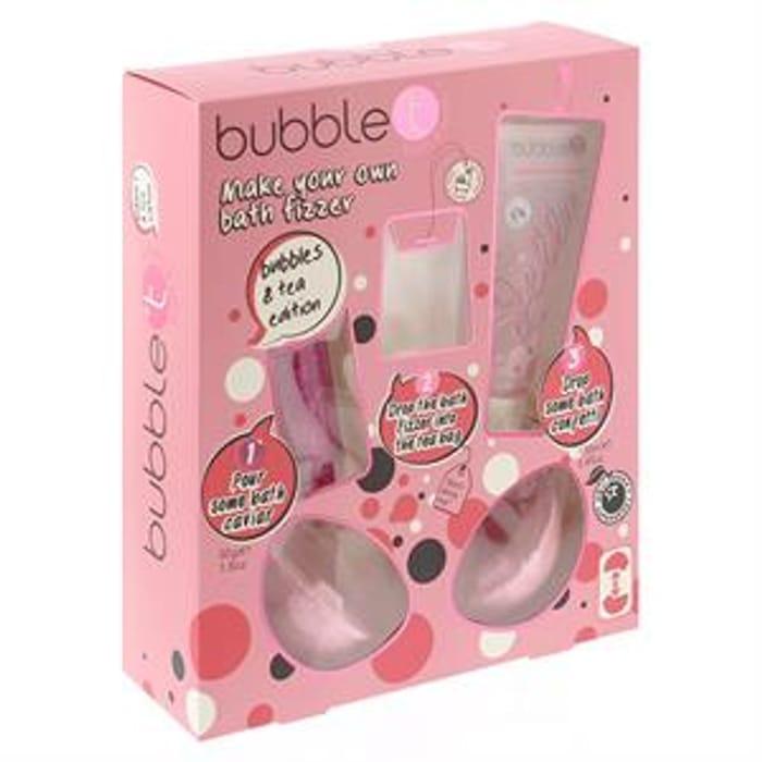 Bubble T Make Your Own Bath Fizzer