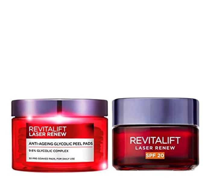 L'Oreal Paris at Home 2-Piece Anti Ageing Revitalift Peel Kit