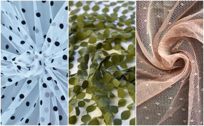 Six Sumptuous Fabric Samples