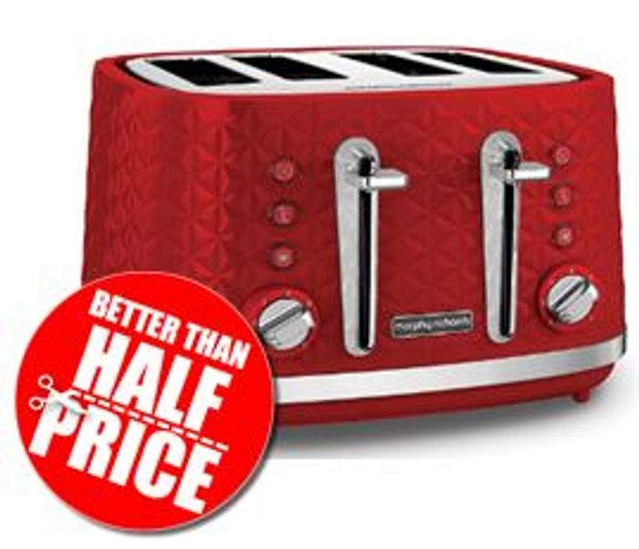 Cheap Morphy Richards Vector 4 Slice Toaster, Only £23.31!
