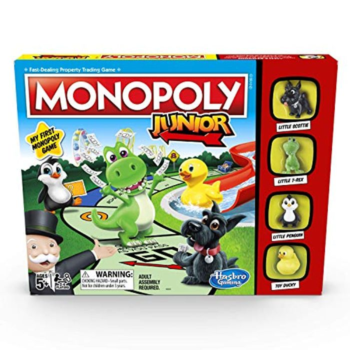 Cheap Hasbro Gaming Monopoly Junior Game reduced by £4!