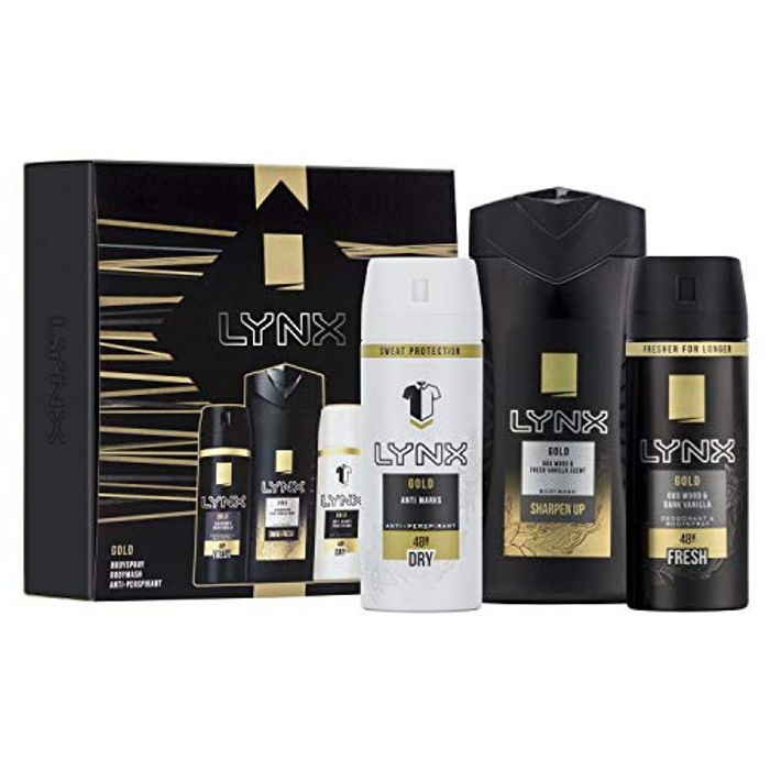 Lynx You Trio Men's Christmas Gift Set with 50% Discount Great buy!