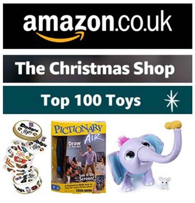 AMAZON UK - TOP 100 TOYS