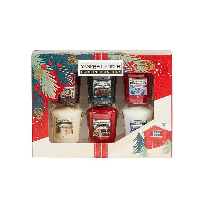 Yankee |Christmas Candle 6 Votive Gift Set