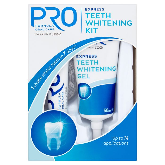 Tesco Pro Formula Whitening Kit