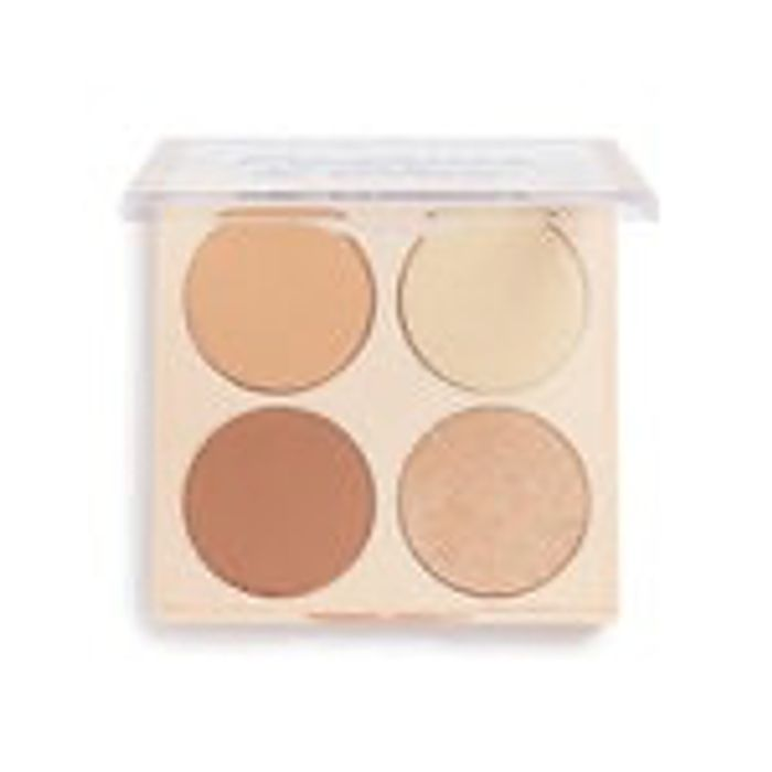Free Contour & Glow Palette When You Spend £12 on Selected Revolution
